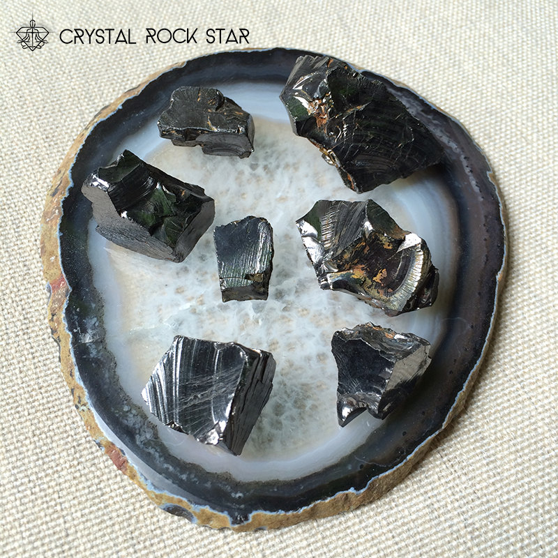 Shungite Crystals for EMF Protection, Healing and Grounding